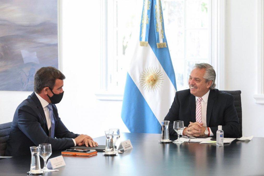 El presidente Alberto Fernández mantuvo este mediodía un encuentro con el titular de Ford Argentina