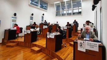 Sesionó el Concejo Deliberante y durante la hora de preferencias hubo un cruce ríspido entre los concejales Gustavo Reyes y Viviana Navarro (Frente de Todos) por el pedido de incremento tarifario de la SCPL.