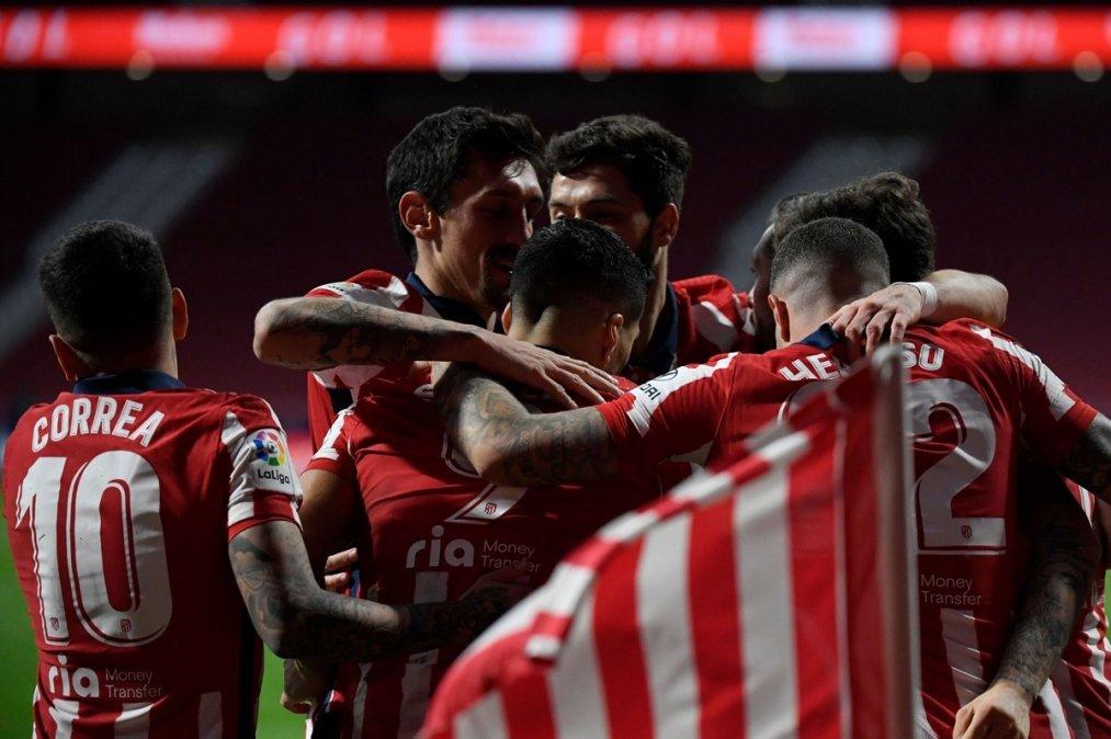 Atlético de Madrid le ganó al Valladolid y es líder en España