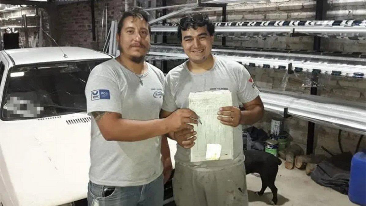 Eduardo Fonseca y Franco Nuñez