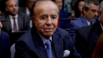 Empeoró el estado de salud de Carlos Menem