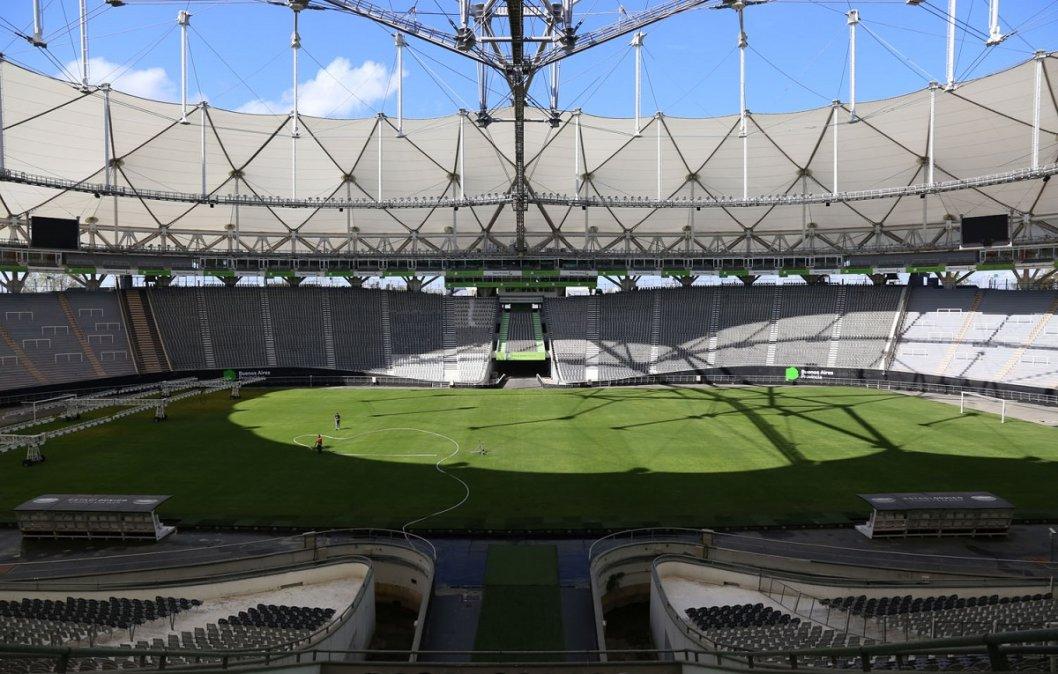 Estadio de La Plata que se llamará Diego Armando Maradona.