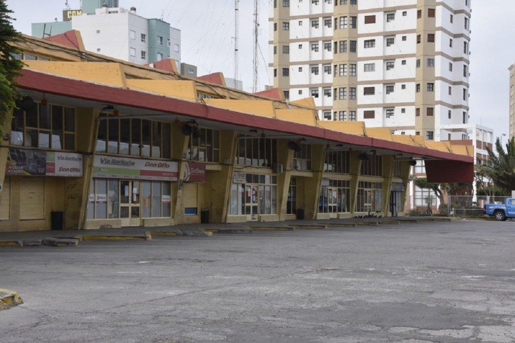 Terminal de Ómnibus de Comodoro Rivadavia.