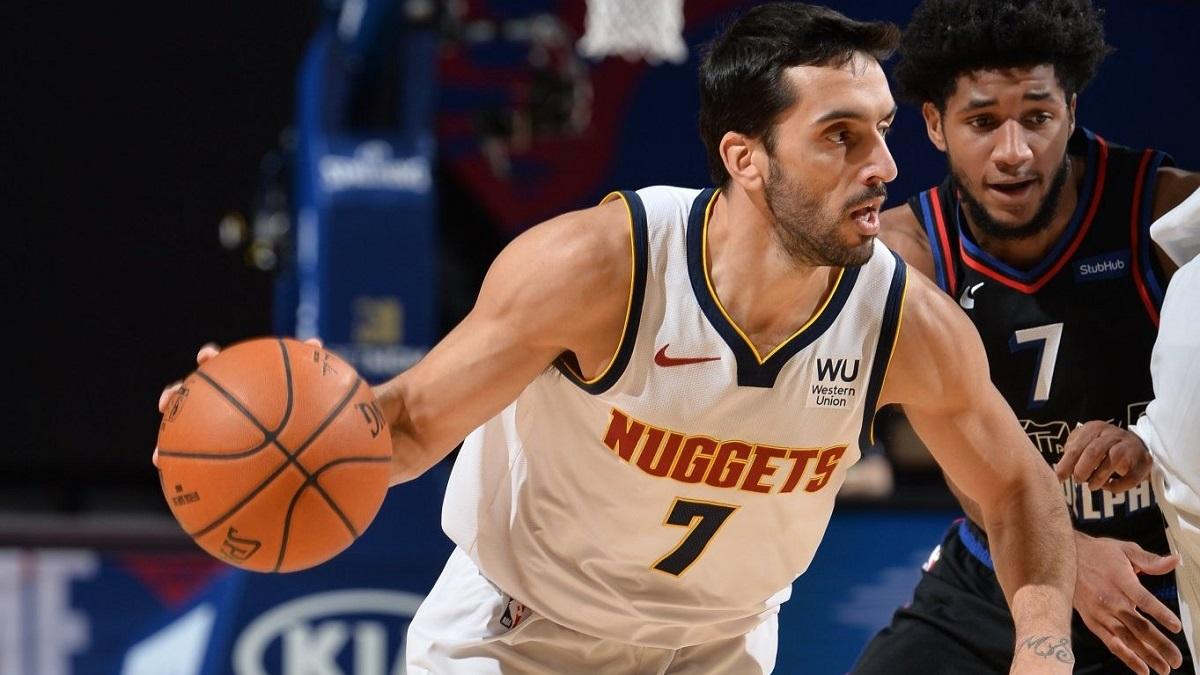 NBA: Diecisiete minutos de Campazzo en la victoria de Denver ante Philadelphia