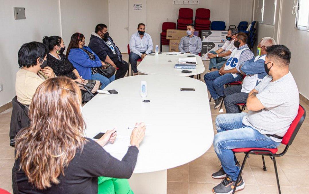 El municipio se reunió con organizaciones sociales para avanzar con sus proyectos