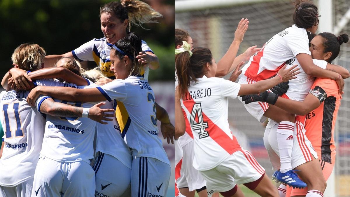 Boca y River jugarán la final del Torneo Transición.