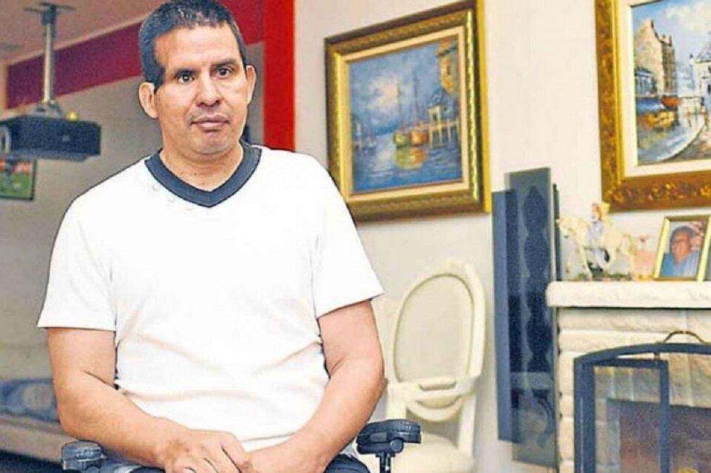 Fernando Cáceres recibió el alta y ya se encuentra en su casa