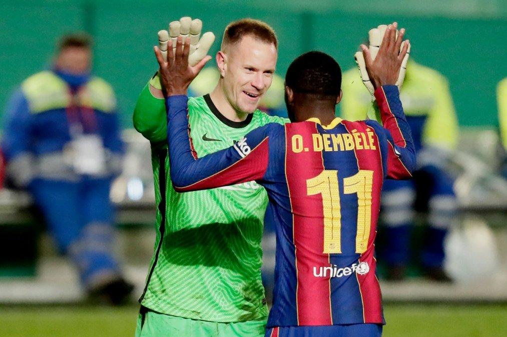 Supercopa de España: Sin Messi, Barcelona eliminó por penales a Real Sociedad