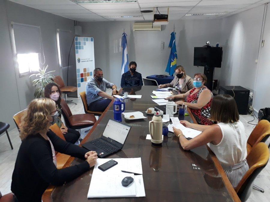 Salud apuesta a fortalecer la red de trabajo entre los Hospitales del Área Programática Sur de Chubut.