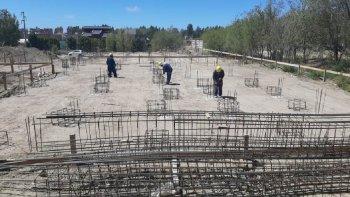 Comenzó la construcción de una nueva escuela de nivel inicial