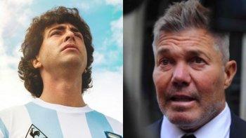 Burlando puso en duda la autorización de Maradona sobre su serie