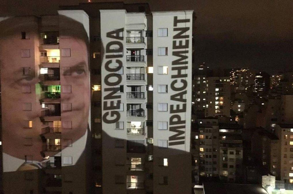 Cacerolazos en todas las capitales de Brasil para pedir la renuncia de Bolsonaro