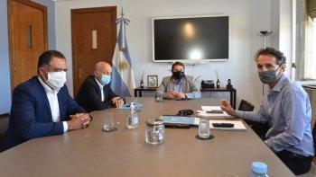 El municipio continúa con las reuniones para avanzar con la obra del acueducto