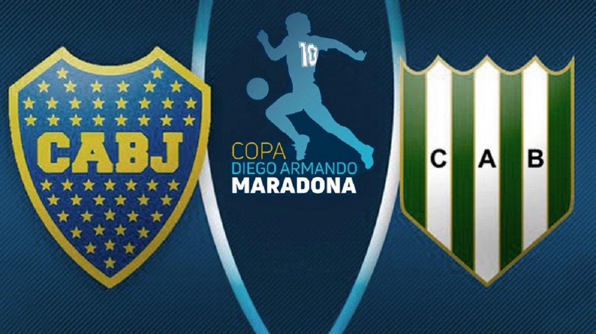 Boca y Banfield definen al campeón de la Copa Diego Maradona