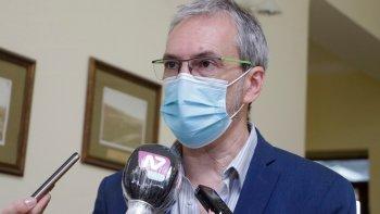 Fabián Puratich, ministro de Salud de Chubut.