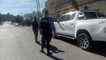Encontraron camioneta con pedido de secuestro