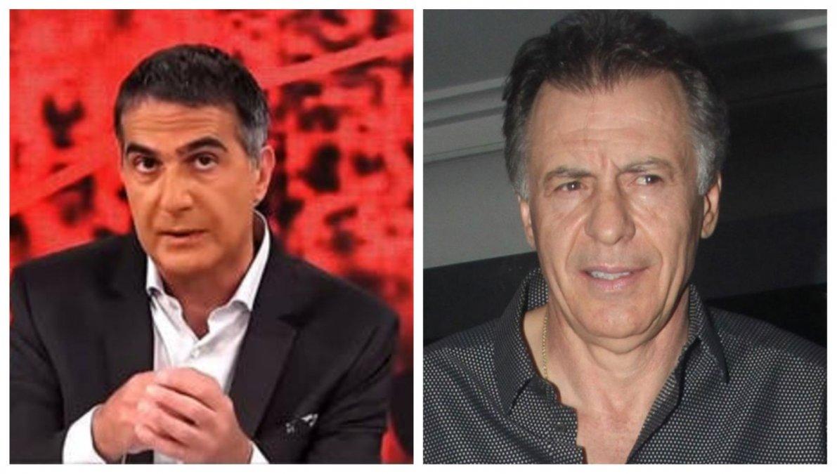 Cristóbal López enojado con Antonio Laje