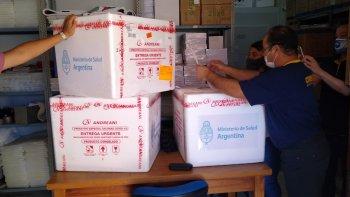 Coronavirus en Chubut: Llegó el segundo lote de vacunas