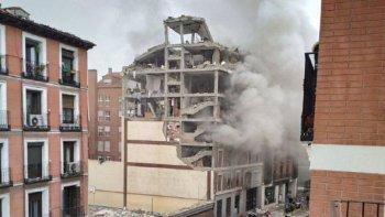 Dos muertos por una explosión en el centro de Madrid
