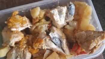 Intentaron meter droga en un estofado de pollo