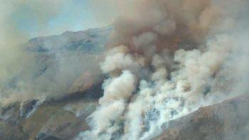 Incendio en El Bolsón: