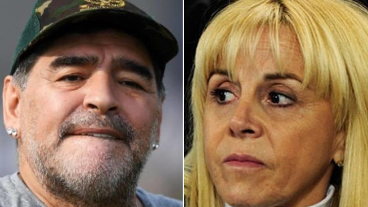 Claudia Villafañe contó cómo se enteró de la muerte de Diego Maradona