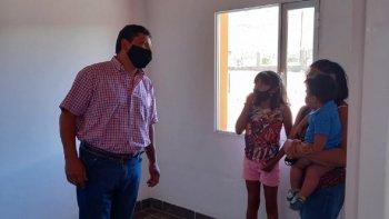 El IPV entregó viviendas en Aldea Epulef