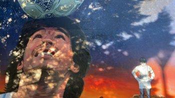 Maradona tiene su mural en Comodoro
