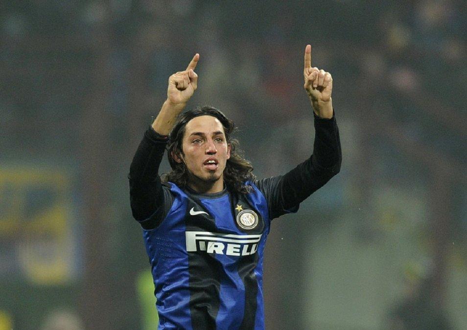 Schelotto jugó en el Inter en el 2013.