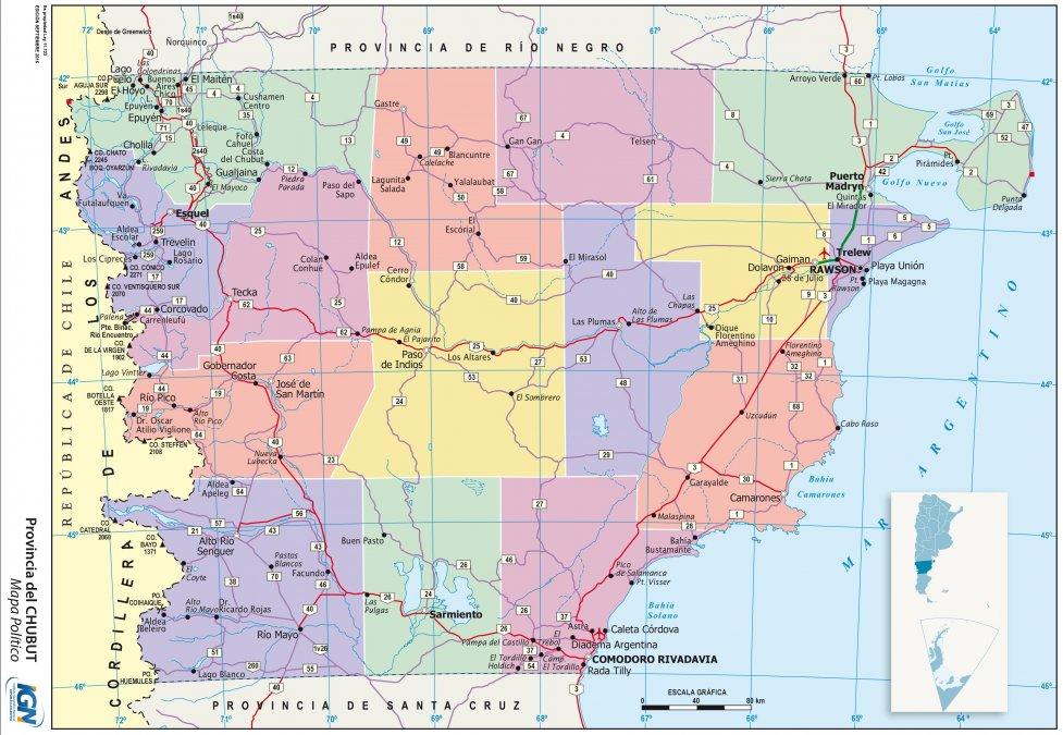 La ineficiencia de la desigualdad, también en Chubut