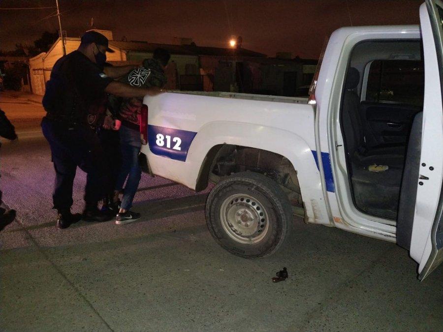 Caminaba armado y fue detenido por efectivos que realizaban un control