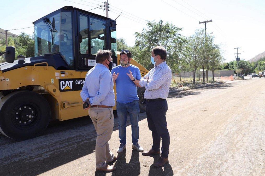Plan vial: el Municipio implementa un nuevo método de pavimentación más rápido y de calidad
