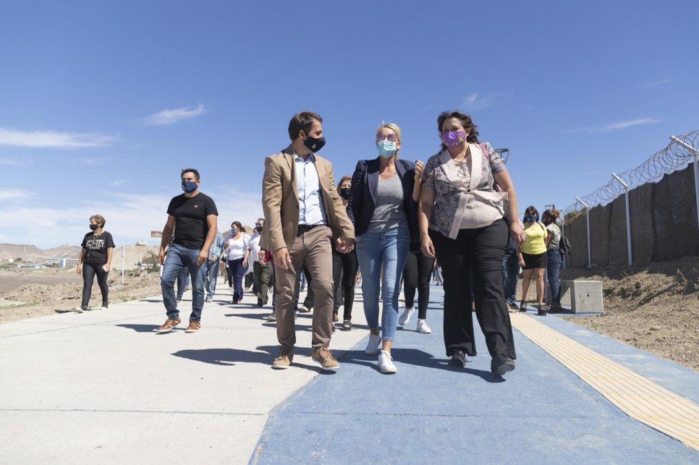 El intendente Luque inauguró el gran paseo costero de km.5