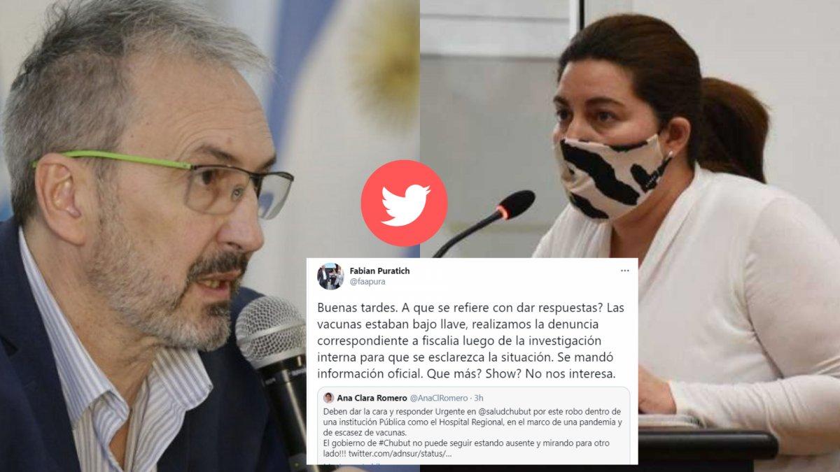 El Ministro de Salud le respondió a la concejal Ana Calra Romero.