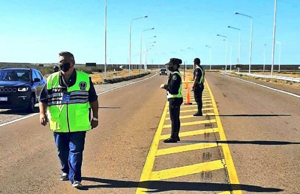 En Comodoro se verificaron 3.621 vehículos y se labraron 43 actas de infracción por distintas faltas a la Ley de Tránsito.