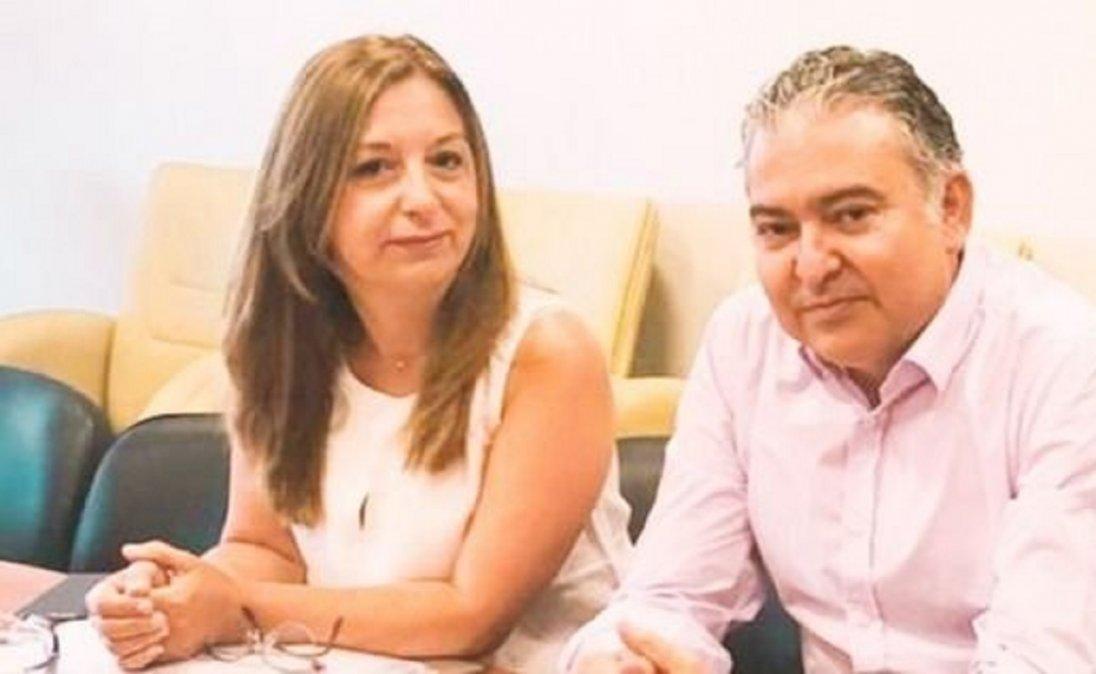 Andrea Aguilera yManuel Pagliaroni