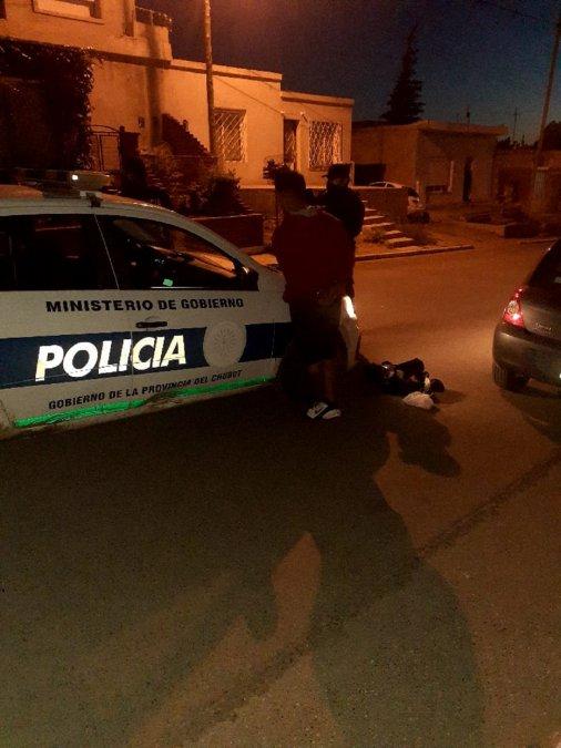 La detención ocurrió cerca de las 5 de la mañana.