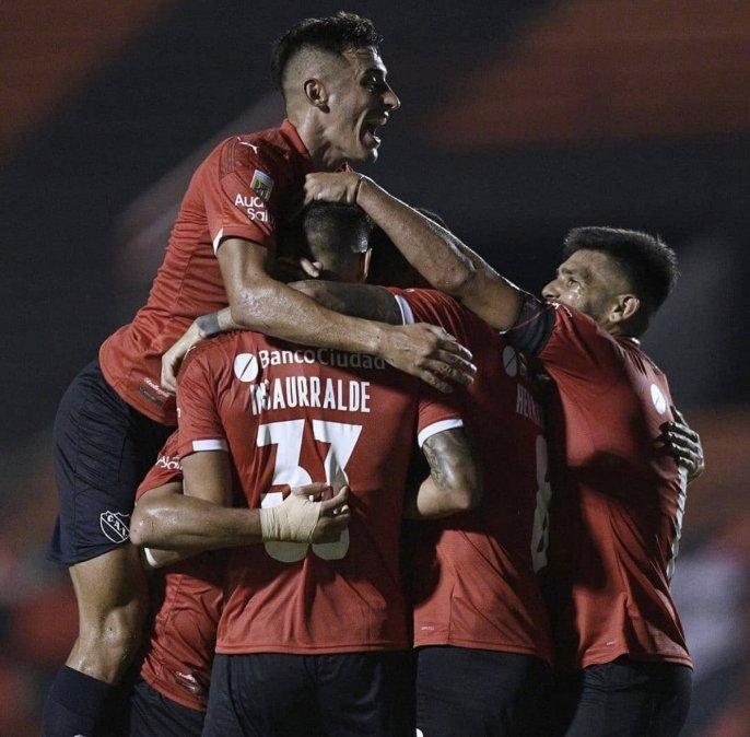 Independiente la ganó a Patronato y sumó sus primeros puntos en la Copa Liga Profesiona