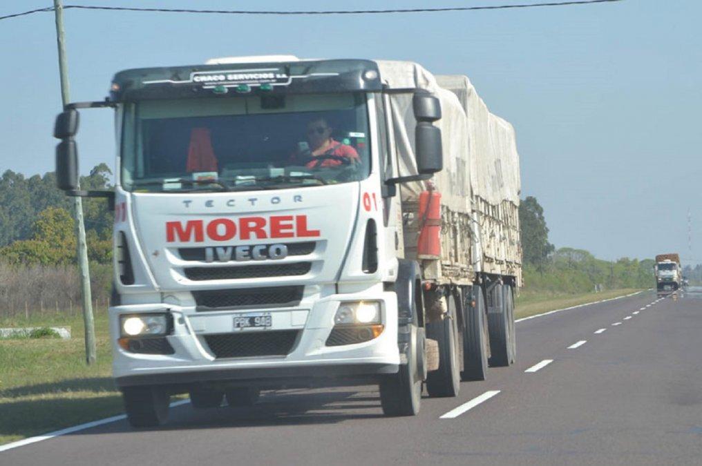 Un camionero denunció que fue robado por piratas del asfalto. Foto: Diario La Pampa.
