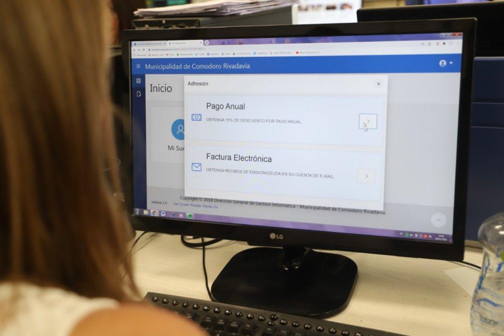El trámite se puede hacer presencial o mediante la oficina virtual.