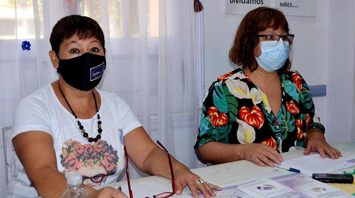 Avilés y Cárdenas explicaron el caso en conferencia de prensa. Foto: Jornada