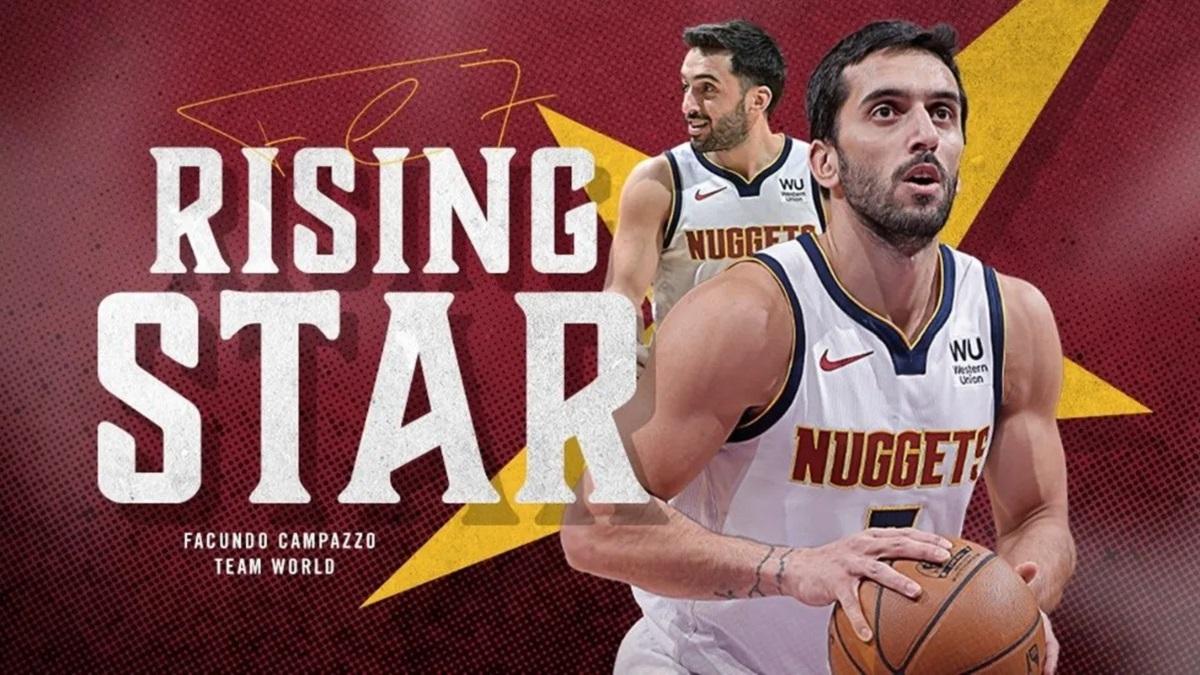 Campazzo fue elegido en el Rising Star del NBA All Star 2021