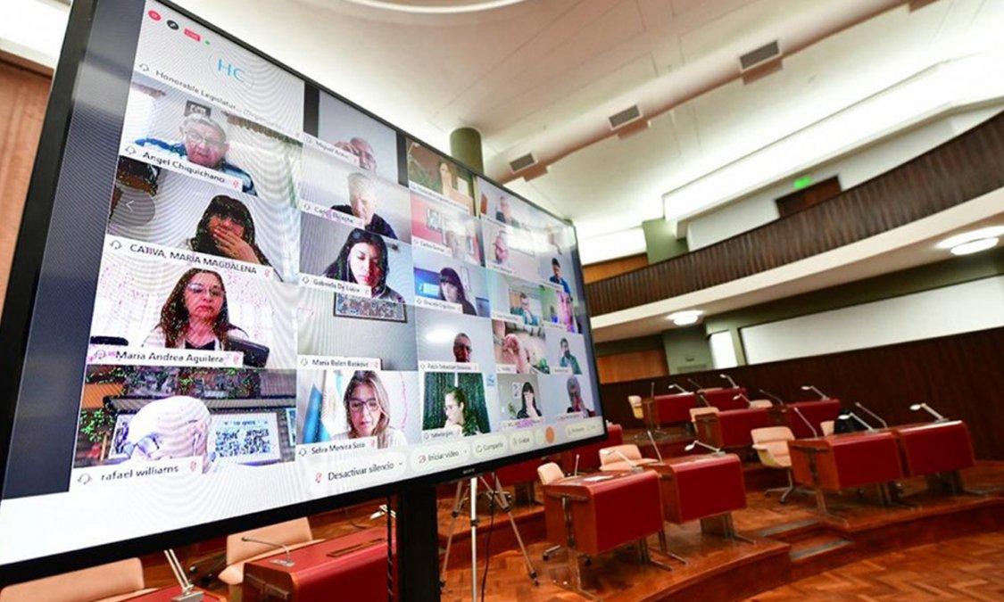 Este jueves sesiona la Legislatura de Chubut y el único tema a tratar será el dictámen del proyecto 128/2020