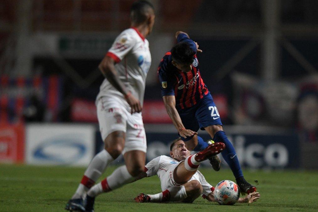 San Lorenzo y Huracán empataron el clásico