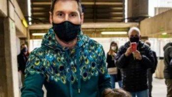 Messi votó por primera vez en las elecciones del Barcelona
