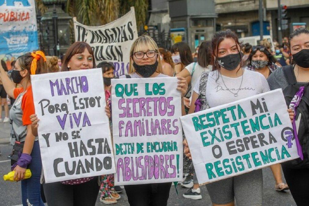 #8M: miles de mujeres marcharon en todo el país contra los femicidios