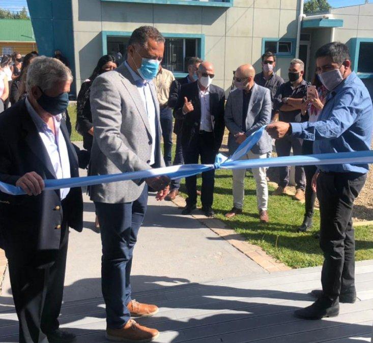 Lludgar inauguró un nuevo Centro de Salud