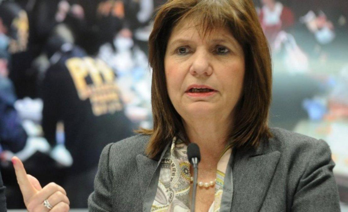 Bullrich aseguró que el Gobierno podría haberle dado las Malvinas a Pfizer