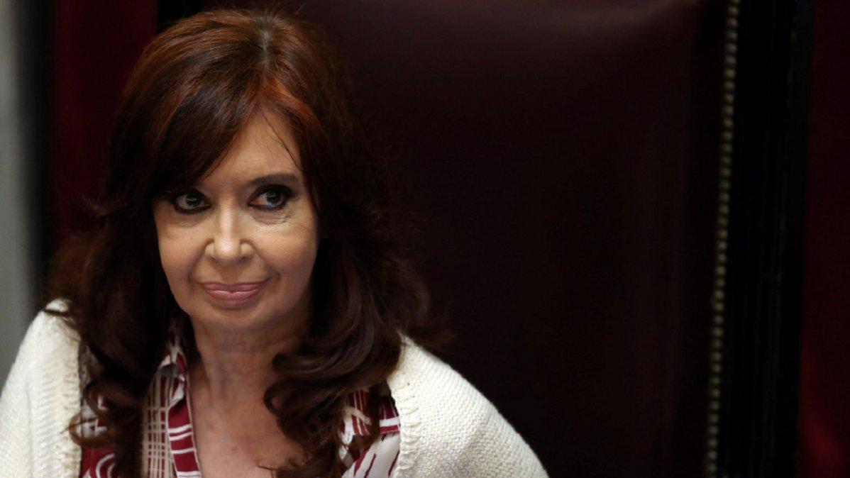 La vicepresidenta Cristina Kirchner renunció a percibir el salario correspondiente al cargo