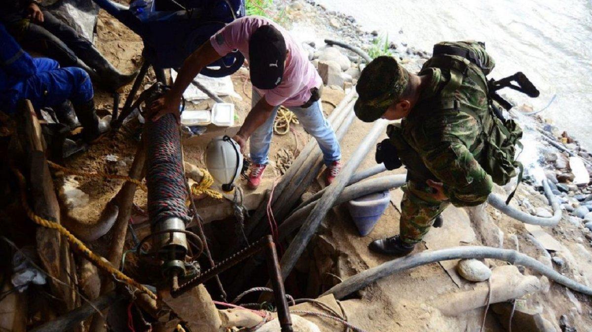 Colombia: al menos 20 trabajadores atrapados en una mina de oro